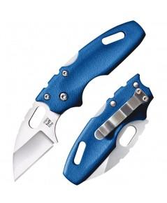 มีดพับ Cold Steel Mini Tuff Lite Folding Knife Wharncliffe Blade, Blue Griv-Ex Handles (20MTB)