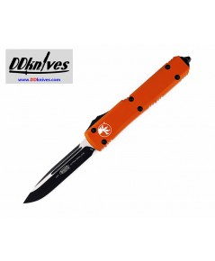 มีดออโต้ Microtech Ultratech S/E OTF Automatic Knife Black Blade, Orange Handles (121-1OR)