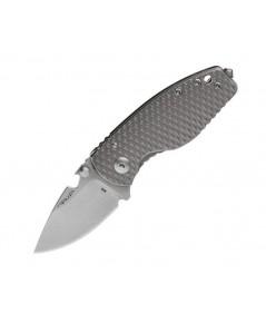 มีดพับ DPx HEAT/F 3D Ti Decade M390 Stonewash Blade, 3D Titanium Handle (DPHTF010)