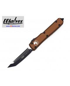 มีดออโต้ Microtech Ultratech T/E OTF Automatic Knife Black Blade, Tan Handles (123-1TA)