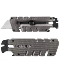 Gerber Prybrid Utility Multi-Function Tool, Replaceable Razor Blade, Gray G10 Handles (31-003745)