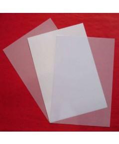 พลาสติกทำบัตร PET inkjet  A4 บัตรพลาสติก ชนิดพิเศษสุด คุณภาพดีเยี่ยม ขอบเรียบสวย