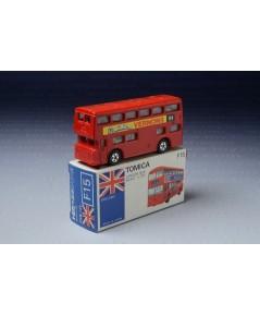 """รถเหล็ก Tomica No.F15 London Bus (""""½ Million Vernon 94)"""