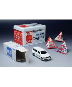 รถเหล็ก Tomica No.C-01 (No.97) Toyota Probox Omochacan