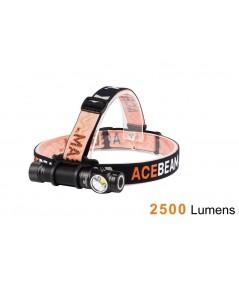 Acebeam H15 ไฟคาดศีรษะรุ่นใหม่ CREE XHP70.2 LED สว่างที่สุดถึง 2500 Lumens