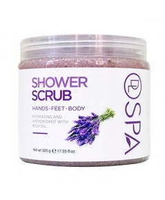DL SPA Lavender Shower Scrub 500g