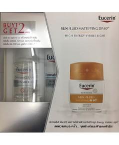 EUCERIN SUN FLUID MATTIFYING FACE DP60+ (สูตรที่มีขายเฉพาะในโรงพยาบาลและคลินิค)