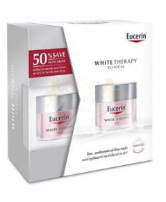 EUCERIN White Therapy Day Cream 50 ml.+Night Cream 50 ml ลด50