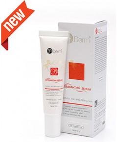 BR DERM ASTAXANTHIN SERUM 20G ผลิตภัณฑ์บำรุงผิวหน้าสำหรับผู้ที่ต้องการลดริ้วรอยและชะลอไม่ให้เกิดริ้ว