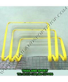 รั้วกระโดด ชนิดพลาสติกแบน (สูง 6, 9, 12, 15 นิ้ว Agility hurdles)