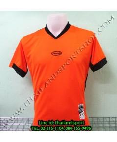 เสื้อกีฬา ตามูโด้ TAMUDO รุ่น T-MV-058 (สีส้ม O) ตัดต่อ ผ้าตาข่าย