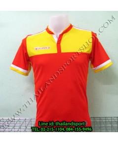 เสื้อกีฬา ยูเรก้า EUREKA รุ่น A5023 (สีส้ม O) พิมพ์ลาย