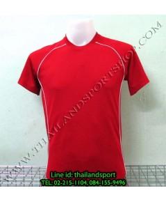 เสื้อกีฬา หมี คูล mhee cool รุ่น slope (สีแดง r)