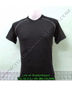 เสื้อกีฬา หมี คูล mhee cool รุ่น slope (สีดำ a)