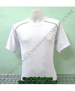 เสื้อกีฬา หมี คูล mhee cool รุ่น slope (สีขาว w)