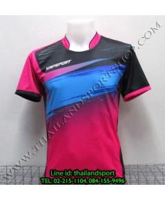 เสื้อกีฬา NAP SPORT รุ่น 13 (สีชมพู P) พิมพ์ลาย