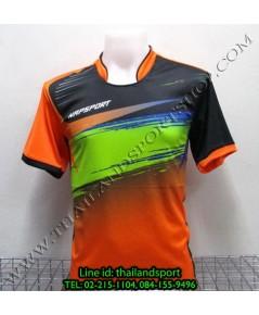 เสื้อกีฬา NAP SPORT รุ่น 13 (สีส้ม O) พิมพ์ลาย