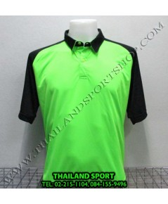 เสื้อโปโล กีฬา MHEE COOL รุ่น สโลป (สีเขียวสะท้อน G2)