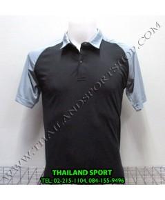 เสื้อโปโล กีฬา MHEE COOL รุ่น สโลป (สีดำ A)