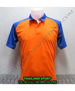 เสื้อโปโล กีฬา MHEE COOL รุ่น สโลป (สีส้ม O)