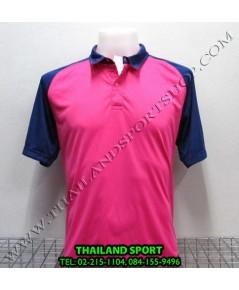 เสื้อโปโล กีฬา MHEE COOL รุ่น สโลป (สีชมพู P)