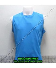 เสื้อกีฬา แขนกุด หมี คูล MHEE COOL รุ่น Pro (สีฟ้า L)