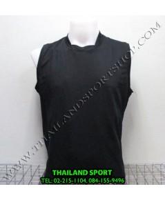 เสื้อกีฬา แขนกุด หมี คูล MHEE COOL รุ่น Pro (สีดำ A)
