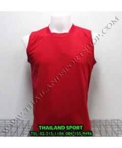 เสื้อกีฬา แขนกุด หมี คูล MHEE COOL รุ่น Pro (สีแดง R)