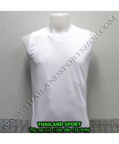 เสื้อกีฬา แขนกุด หมี คูล MHEE COOL รุ่น Pro (สีขาว W)