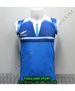 เสื้อกีฬา แขนกุด ซิลเวอร์ ZERLVER รุ่น A2009 (สีฟ้า L)