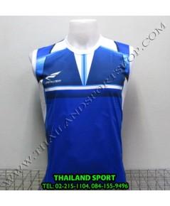 เสื้อกีฬา แขนกุด ซิลเวอร์ ZERLVER รุ่น A2009 (สีน้ำเงิน B)