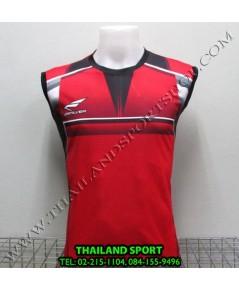 เสื้อกีฬา แขนกุด ซิลเวอร์ ZERLVER รุ่น A2009 (สีแดง R)