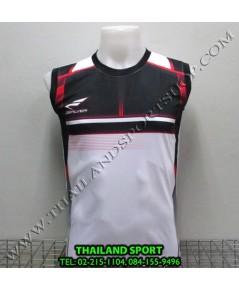 เสื้อกีฬา แขนกุด ซิลเวอร์ ZERLVER รุ่น A2009 (สีขาว W)