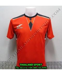 เสื้อกีฬา ซิวเวอร์ ZERLVER SPORT รหัส A5010 (สีส้ม O) พิมพ์ลาย