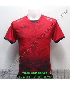 เสื้อกีฬา แกรนด์ สปอร์ต Grand Sport รุ่น 11-540 (สีแดง R) พิมพ์ลาย