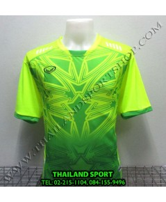 เสื้อกีฬา แกรนด์ สปอร์ต Grand Sport รุ่น 11-540 (สีเขียว G) พิมพ์ลาย
