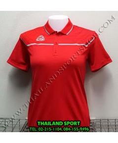 เสื้อ POLO อีโก้ EGO SPORT รุ่น EG 6140 (สีแดง) WOMEN