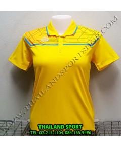 เสื้อ POLO อีโก้ EGO SPORT รุ่น EG 6140 (สีเหลือง) WOMEN