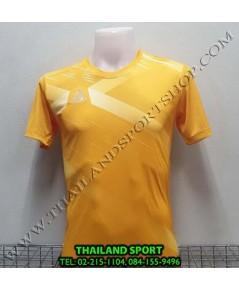 เสื้อ อีโก้ EGO SPORT รุ่น EG-5116 (สีเหลืองทอง) พิมพ์ลาย