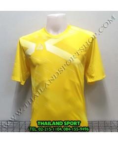 เสื้อ อีโก้ EGO SPORT รุ่น EG-5116 (สีเหลือง) พิมพ์ลาย