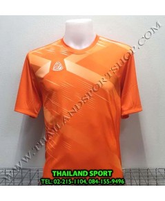 เสื้อ อีโก้ EGO SPORT รุ่น EG-5116 (สีส้มแสด) พิมพ์ลาย