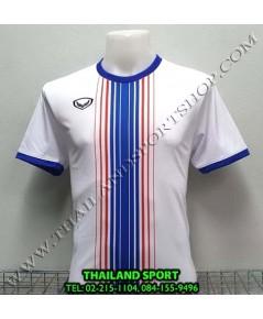 เสื้อกีฬา แกรนด์ สปอร์ต Grand Sport รุ่น 11-464 (สีขาว) พิมพ์ลาย