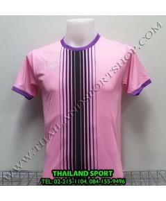 เสื้อกีฬา แกรนด์ สปอร์ต Grand Sport รุ่น 11-464 (สีชมพู) พิมพ์ลาย