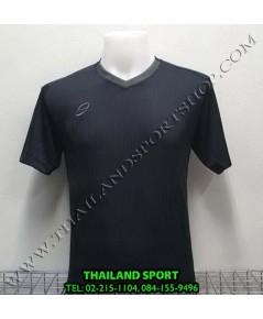 เสื้อ อีโก้ EGO SPORT รุ่น EG-5118 (สีดำ BK) พิมพ์ลาย