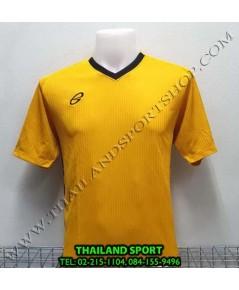 เสื้อ อีโก้ EGO SPORT รุ่น EG-5118 (สีเหลืองทอง) พิมพ์ลาย