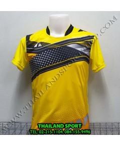 เสื้อกีฬา ที-ทีม  T-TEAM  รุ่น 08 (สีเหลือง) พิมพ์ลาย