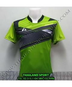 เสื้อกีฬา ที-ทีม  T-TEAM  รุ่น 08 (สีเขียว) พิมพ์ลาย