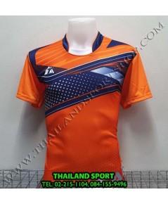 เสื้อกีฬา ที-ทีม  T-TEAM  รุ่น 08 (สีส้ม) พิมพ์ลาย