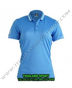 เสื้อ POLO กีฬา อีโก้ EGO SPORT รุ่น EG 6148 (สีฟ้า) WOMEN