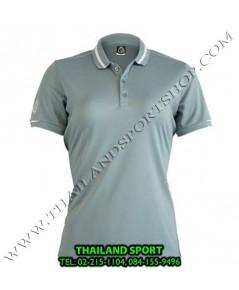 เสื้อ POLO กีฬา อีโก้ EGO SPORT รุ่น EG 6148 (สีเทาเปียกปูน) WOMEN